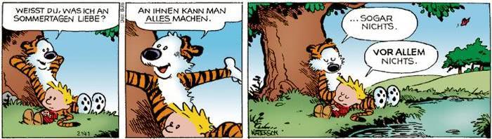 Calvin vom 25.07.2017