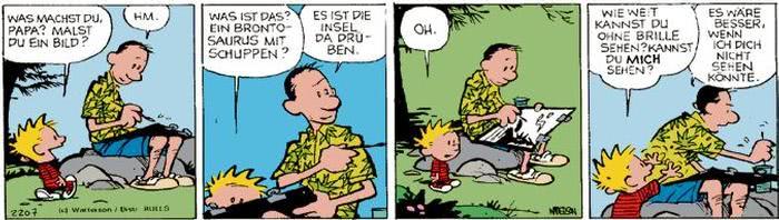 Calvin vom 25.08.2017