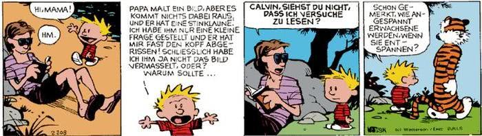 Calvin vom 28.08.2017