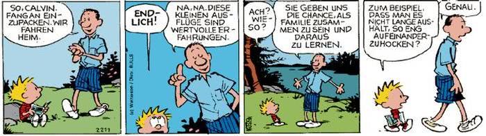 Calvin vom 31.08.2017