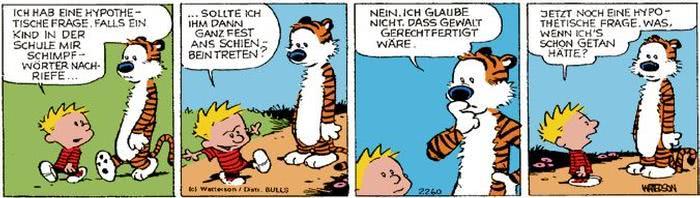 Calvin vom 13.09.2017