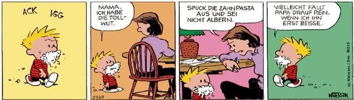 Calvin vom 19.09.2017