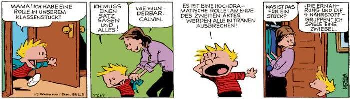 Calvin vom 20.09.2017