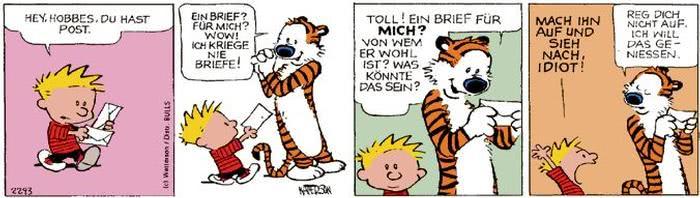 Calvin vom 09.10.2017