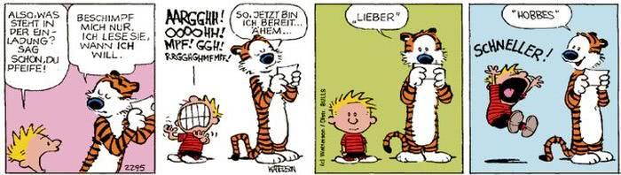 Calvin vom 11.10.2017