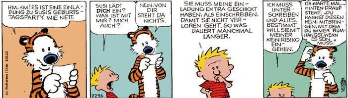 Calvin vom 12.10.2017