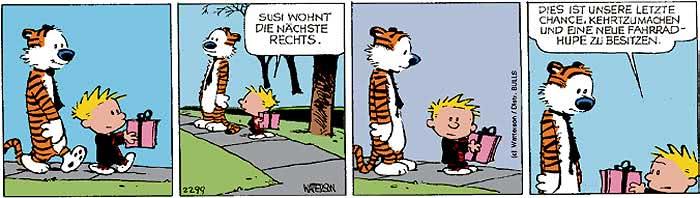 Calvin vom 17.10.2017