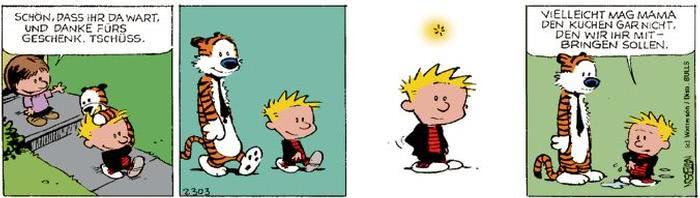 Calvin vom 23.10.2017