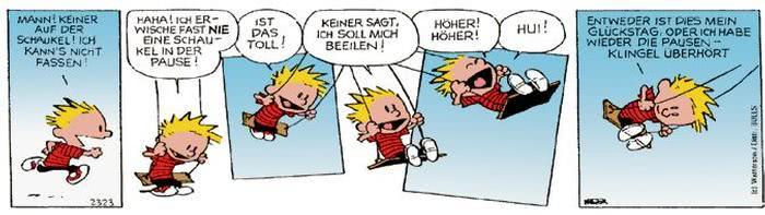 Calvin vom 30.10.2017