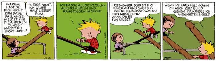 Calvin vom 01.11.2017