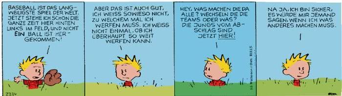 Calvin vom 15.11.2017