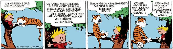 Calvin vom 22.11.2017
