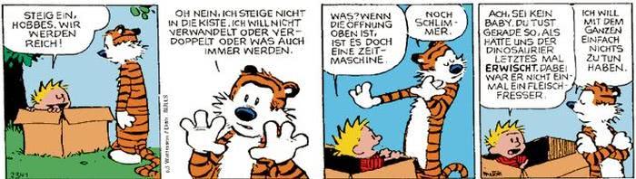 Calvin vom 23.11.2017