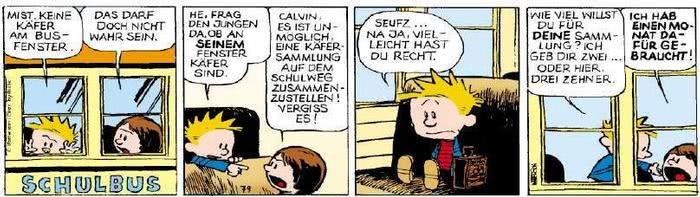 Calvin vom 14.08.2018