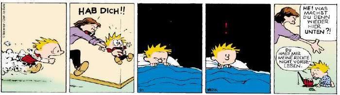Calvin vom 30.08.2018