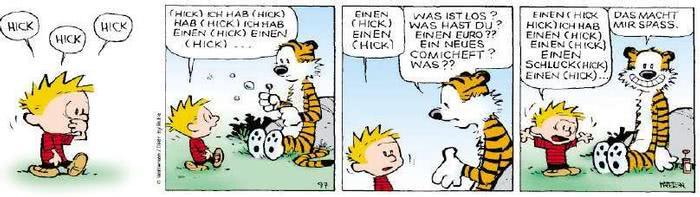 Calvin vom 06.09.2018