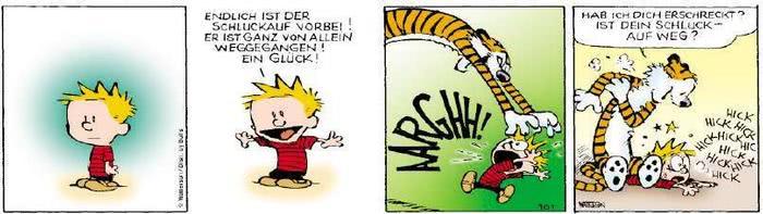 Calvin vom 12.09.2018