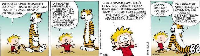 Calvin vom 20.11.2018