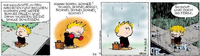 Calvin vom 21.11.2018