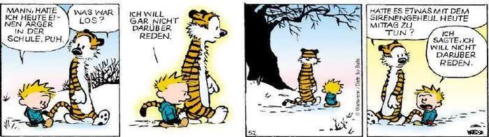 Calvin vom 28.11.2018