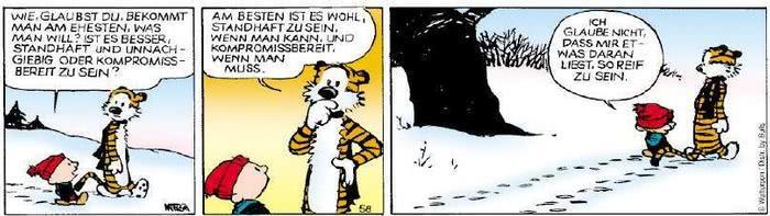 Calvin vom 04.12.2018