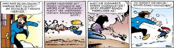 Calvin vom 27.12.2018