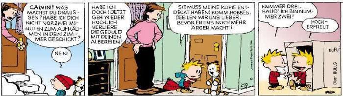 Calvin vom 03.01.2019