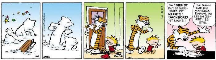 Calvin vom 08.01.2019