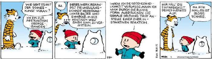 Calvin vom 15.01.2019
