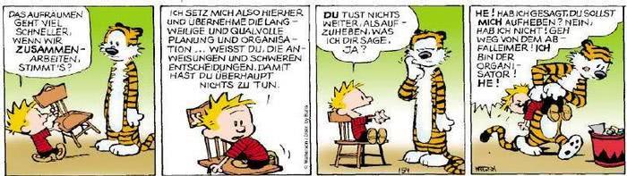 Calvin vom 28.01.2019