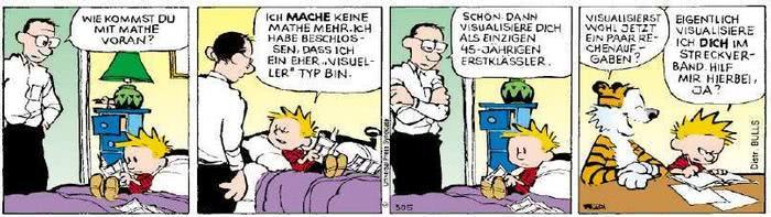 Calvin vom 13.02.2019