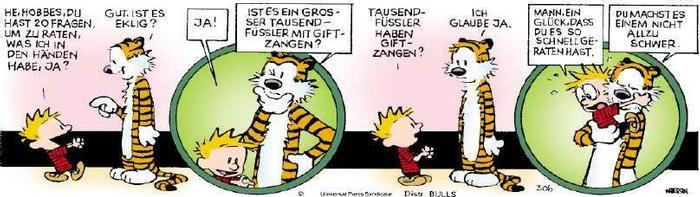 Calvin vom 15.02.2019