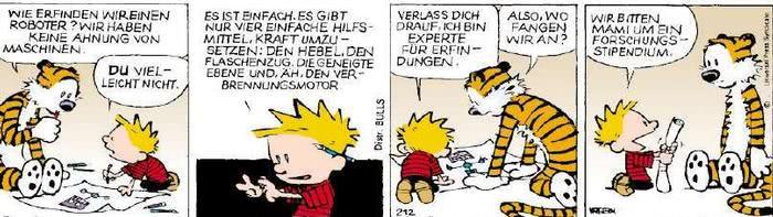 Calvin vom 12.03.2019