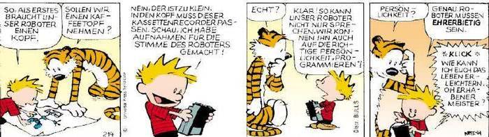 Calvin vom 14.03.2019