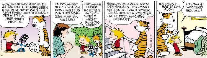 Calvin vom 18.03.2019