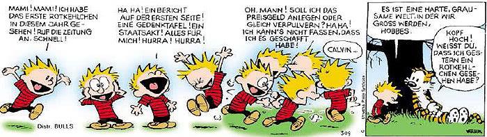 Calvin vom 27.03.2019