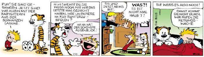 Calvin vom 28.03.2019