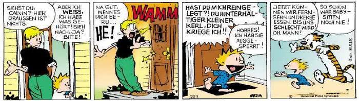 Calvin vom 01.04.2019