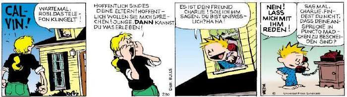 Calvin vom 04.04.2019