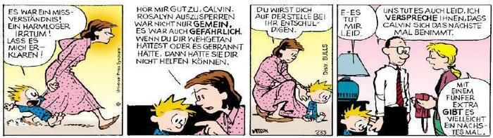 Calvin vom 09.04.2019