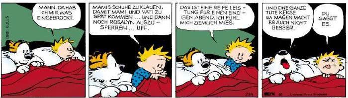 Calvin vom 10.04.2019