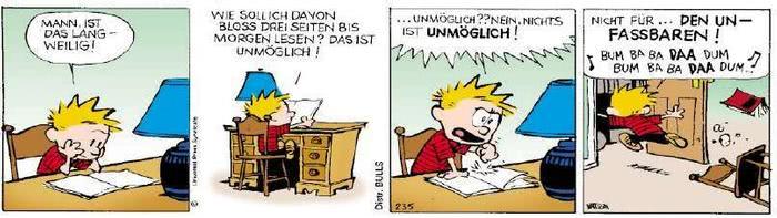 Calvin vom 11.04.2019