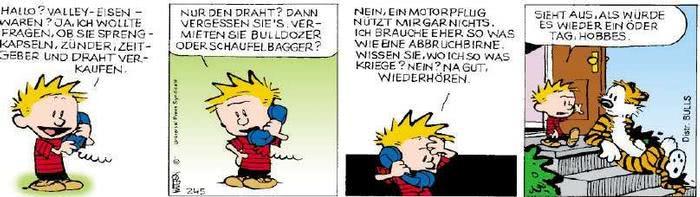 Calvin vom 29.04.2019