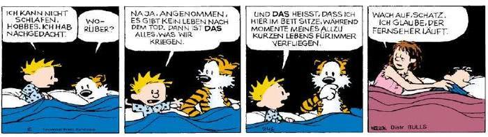 Calvin vom 30.04.2019