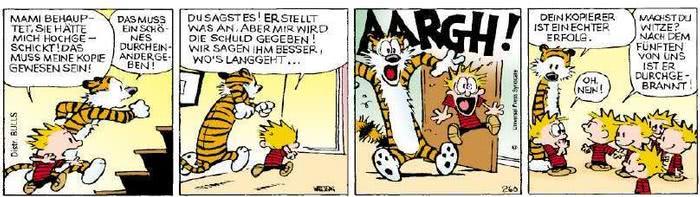 Calvin vom 20.05.2019