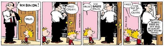 Calvin vom 24.05.2019
