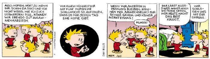 Calvin vom 27.05.2019