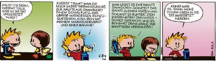 Calvin vom 21.08.2020