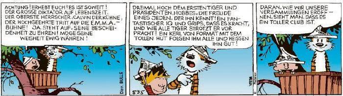 Calvin vom 26.08.2020