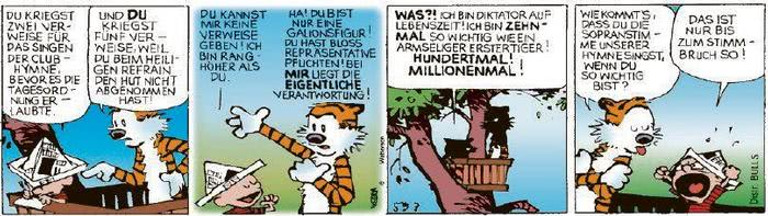Calvin vom 28.08.2020